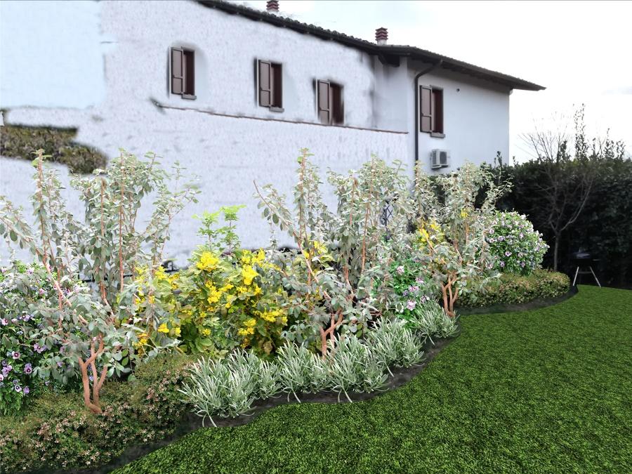 Tadini arteverde progetto piccolo giardino a manerba - Progetto giardino piccolo ...