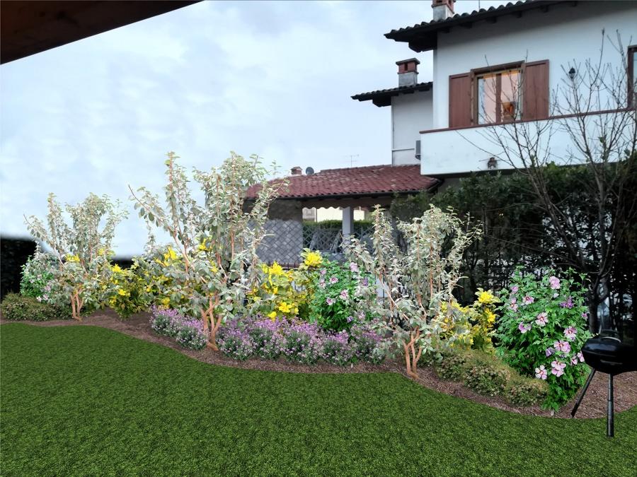 Tadini arteverde progetto piccolo giardino a manerba - Progetto piccolo giardino ...