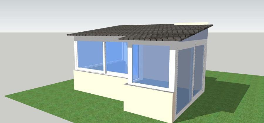 Progetto Realizzazione Veranda