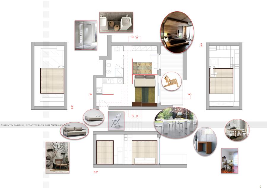 Progetto di ristrutturazione appartamento 60mq idee for Progetto ristrutturazione appartamento