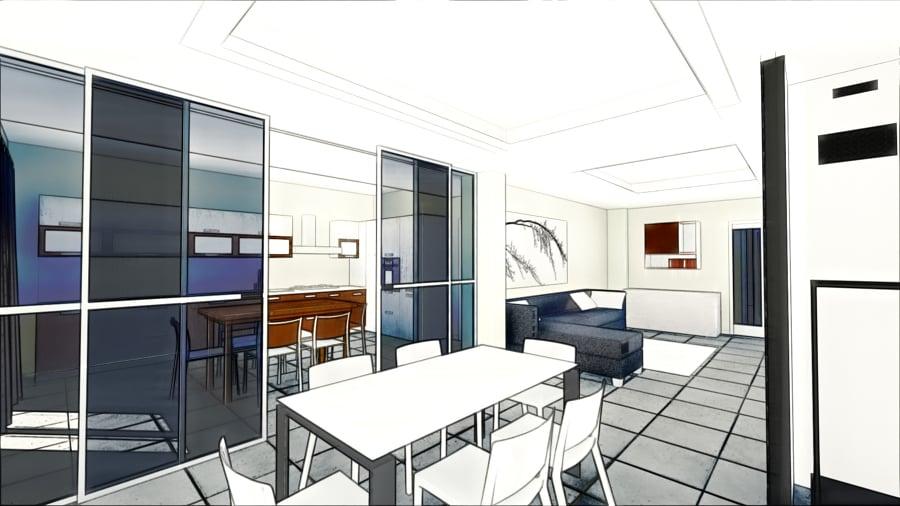 Progetto ristrutturazione appartamento moderno idee for Progetto appartamento moderno