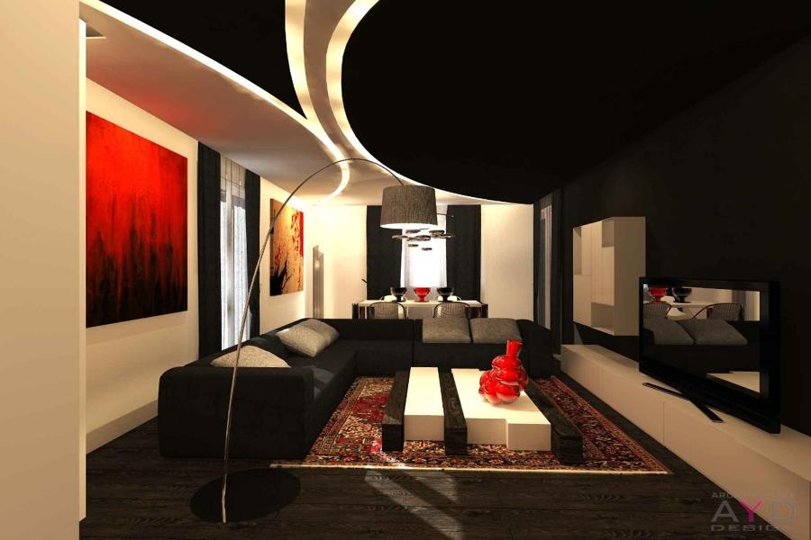 progetto ristrutturazione appartamento studio ayd torino