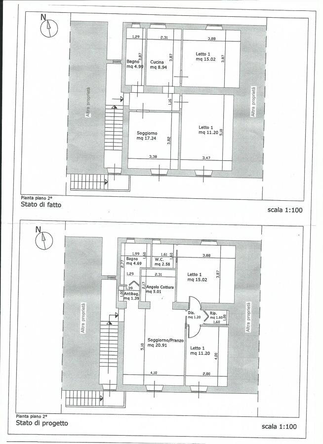 Progetto ristrutturazione appartamento mq60 a capranica vt idee ristrutturazione casa - Progetto ristrutturazione casa gratis ...