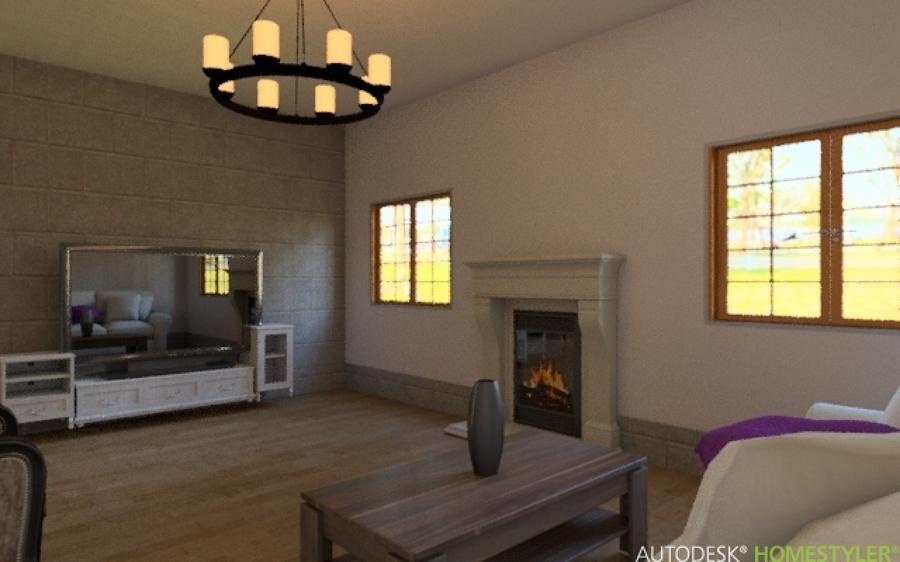Progetto salone moderno idee ristrutturazione casa for Immagini saloni moderni