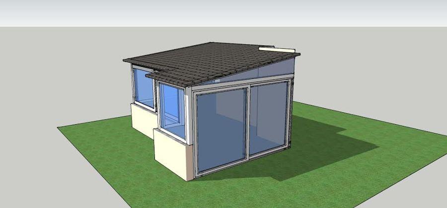Progetto Veranda da realizzare