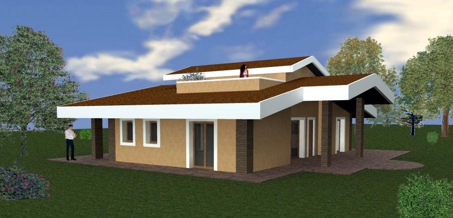 Progetti costruzione edifici vari idee architetti for Progetto villa moderna nuova costruzione