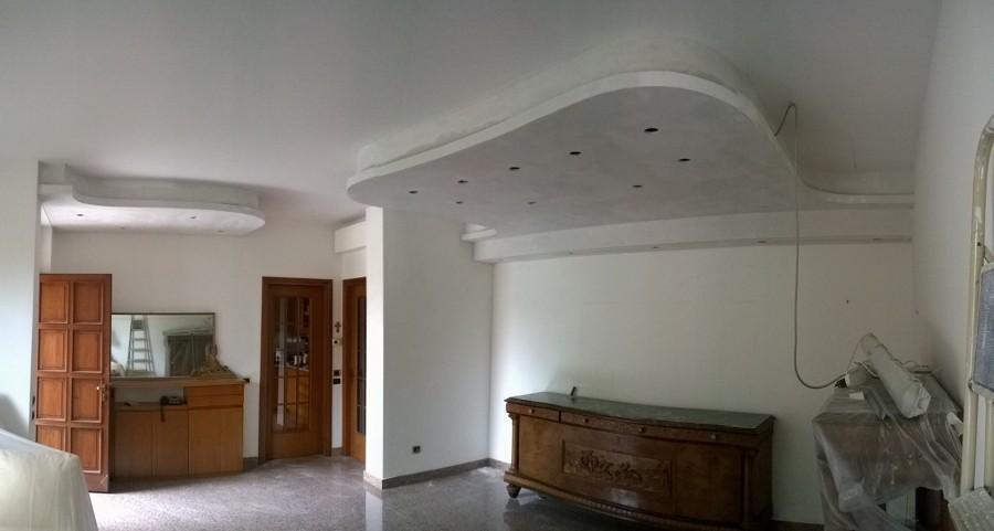 Ben noto Abbassamento Decorativo con Veletta ed Illuminazione | Idee  KL72