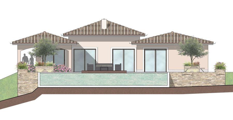 prospetto piscina