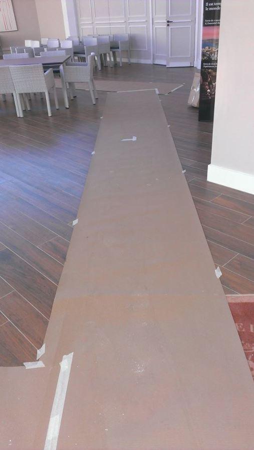 Protezione a pavimenti