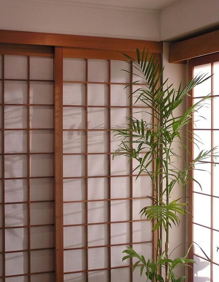Caratteristiche delle porte in stile giapponese idee - Porte scorrevoli stile giapponese ...