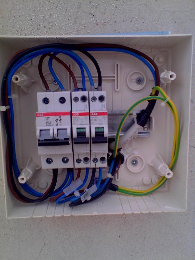Schemi Elettrici Quadro : Quadro elettrico abitazione