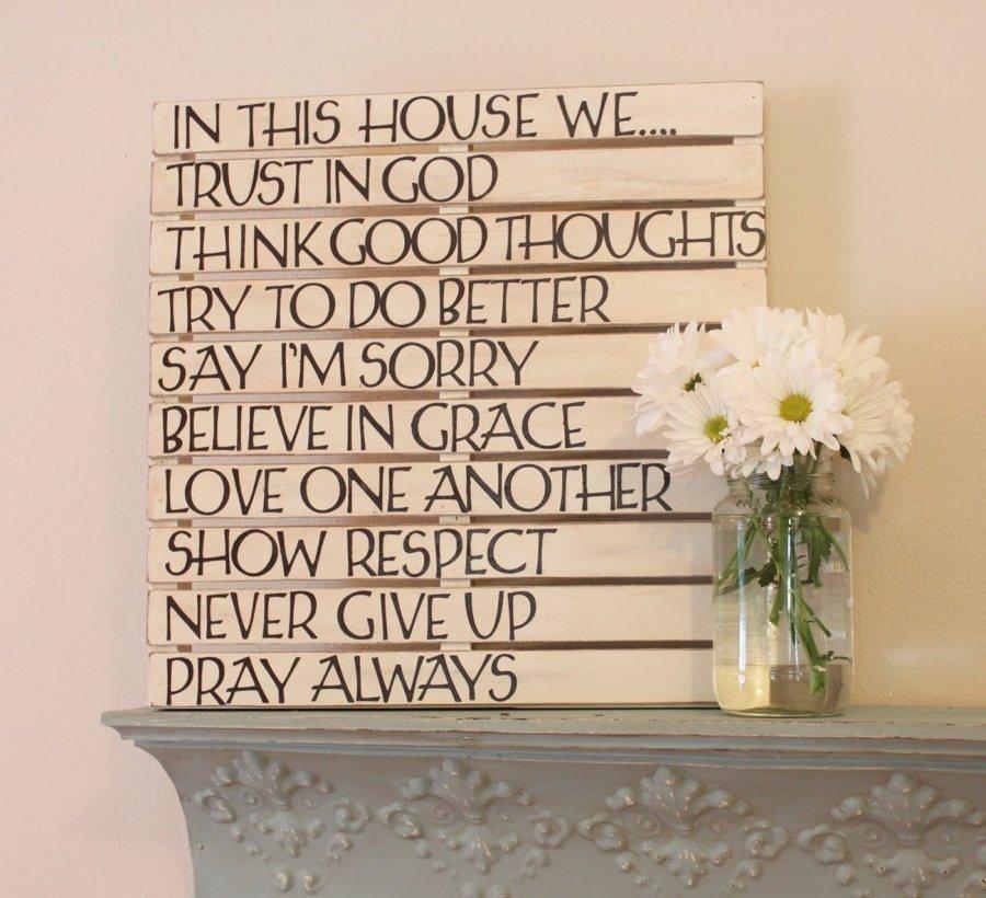 quadro pallet per decorare casa
