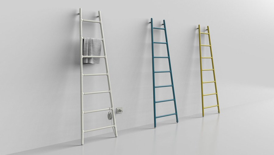 Foto radiatori design scala a pioli di marilisa dones - Radiatori a parete prezzi ...