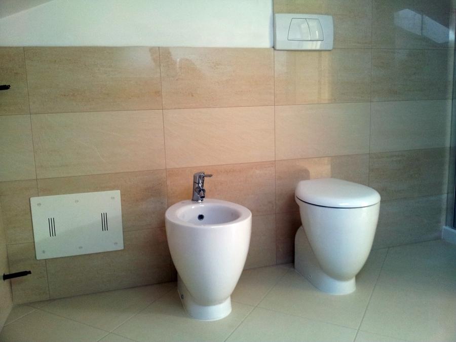 Progetto realizzazione bagno in mansarda idee - Costo realizzazione bagno ...