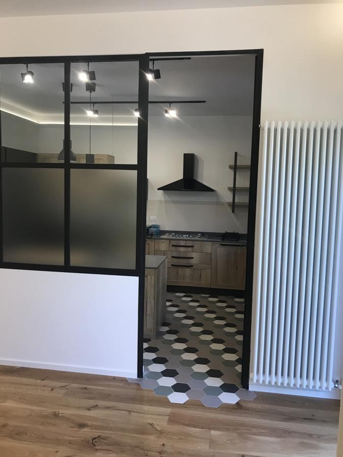 realizzazione cucina e living