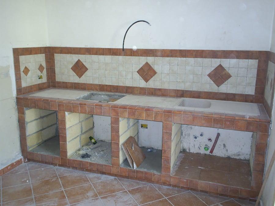 Progetto Cucina In Muratura. Cucina Muratura Moderna Cucina ...