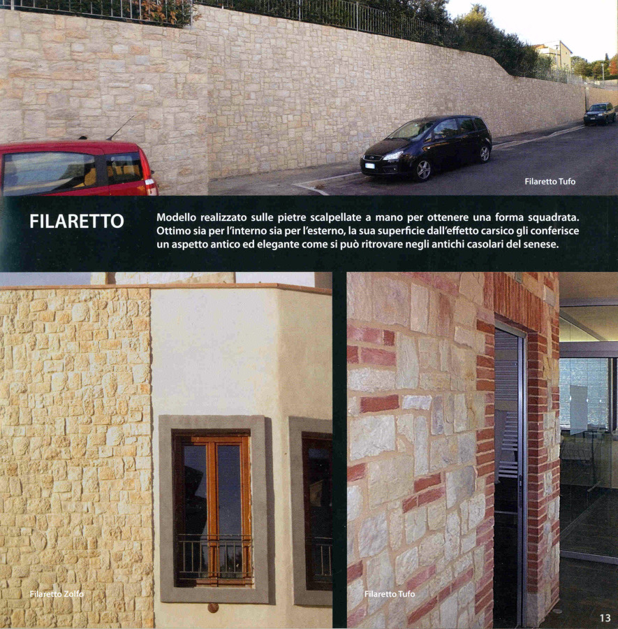 """Realizzazione in """"Filaretto"""""""