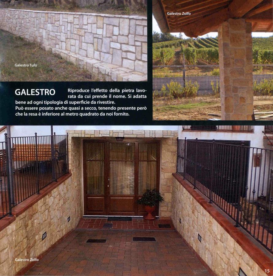 """Realizzazione in """"Galestro"""""""