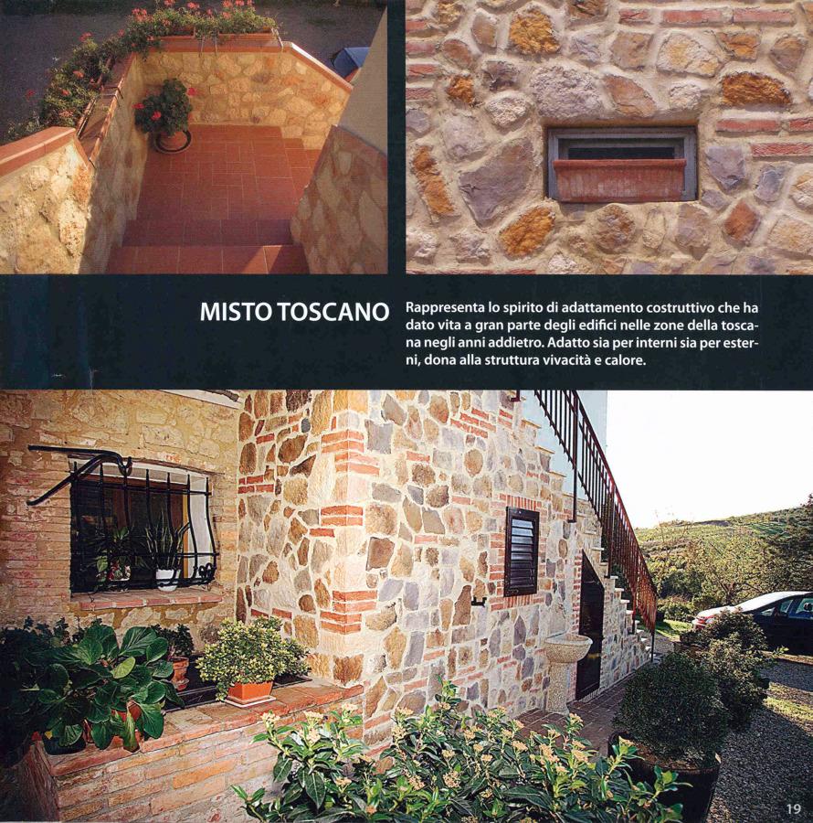 """Realizzazione in """" Misto Toscano"""""""