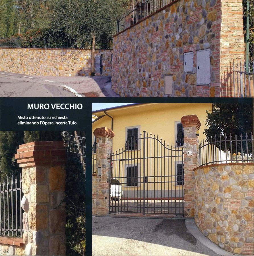 """Realizzazione in """"Muro Vecchio"""""""