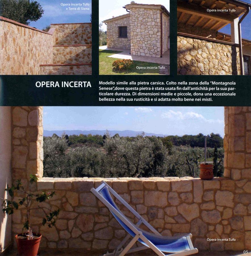 """Realizzazione in """" Opera Incerta"""""""