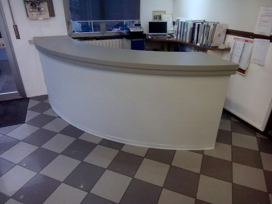 Reception showroom dopo