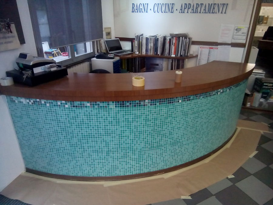 Reception showroom prima