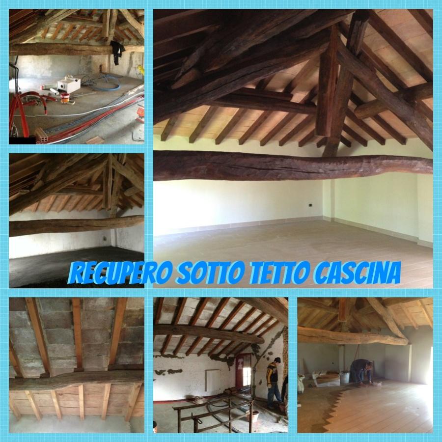 RECUPERO SOTTO TETTO CASCINA