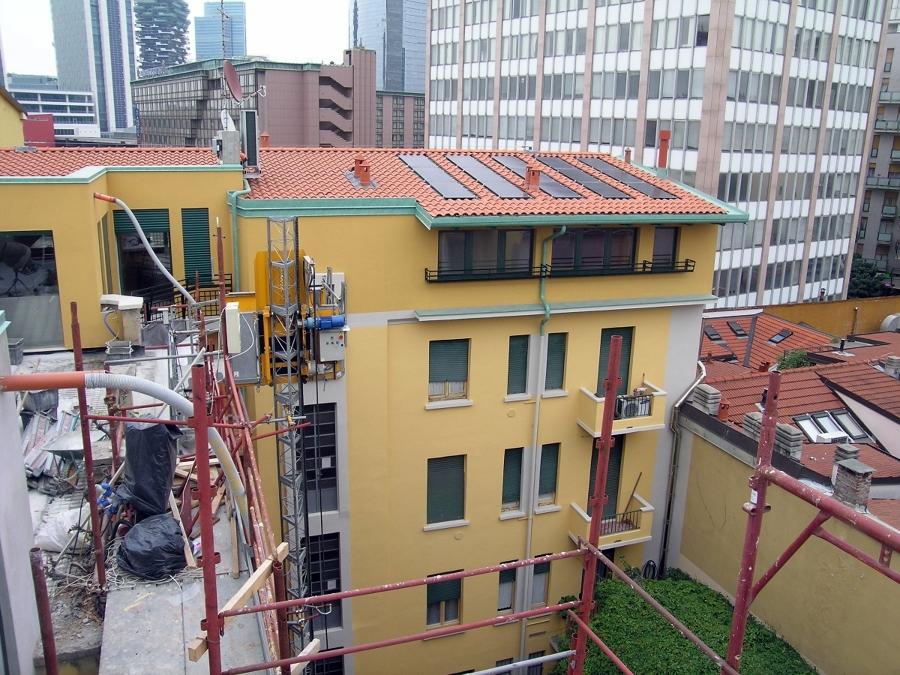 Progetto di recupero sottotetto idee ristrutturazione edifici - Recupero sottotetto ...