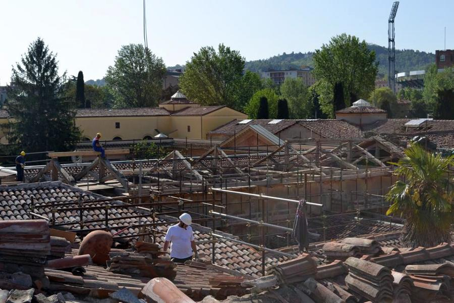 Referenza Onduline per il Cimiteri Monumentale della Certosa di Bologna
