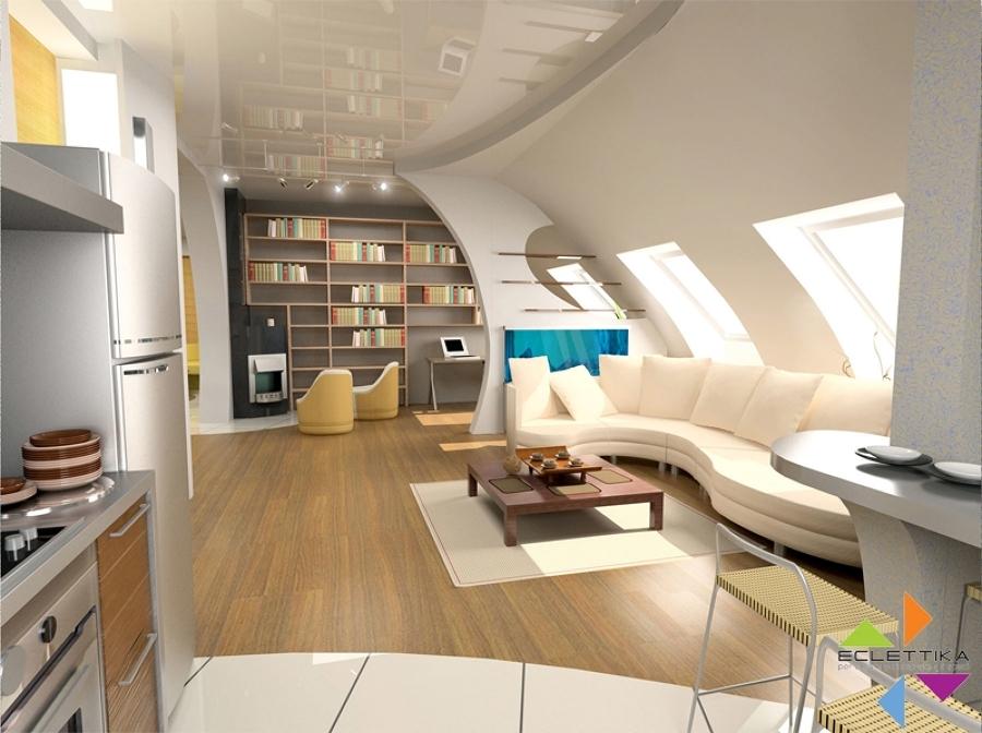 Progetti di design di interni idee architetti for Progetti design interni