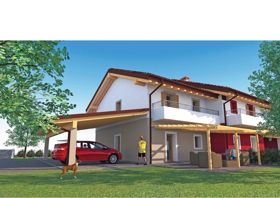 Villa Bifamiliare Idee Architetti