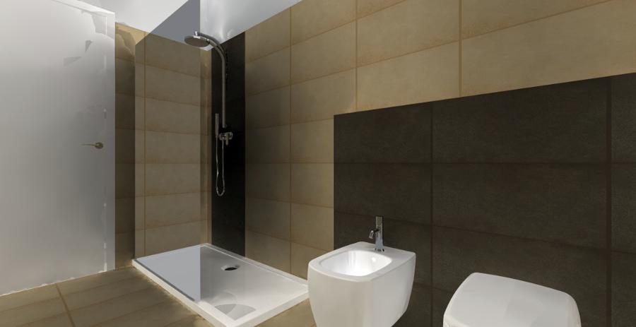 Progetto ristrutturazione bagno elisa progetti ristrutturazione bagni - Termoarredo per bagno 6 mq ...