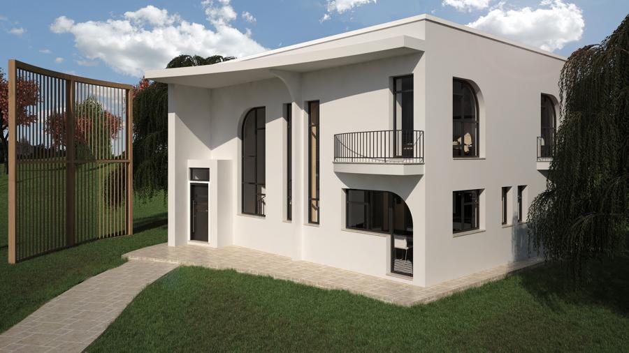 Progetto di una casa in bioedilizia a cassolnovo pv idee costruzione case prefabbricate - Progetto costruzione casa ...