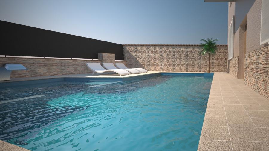 Render piscina Paratico