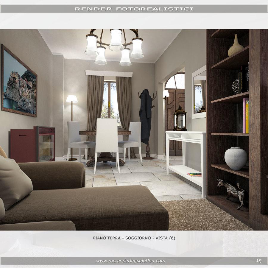 Foto render progetto soggiorno di mc rendering solution for Progetto soggiorno
