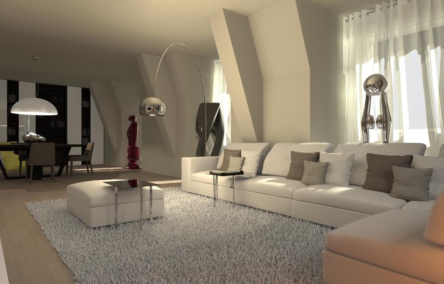 Foto: Render Soggiorno di Studio Di Architettura E Ingegneria ...