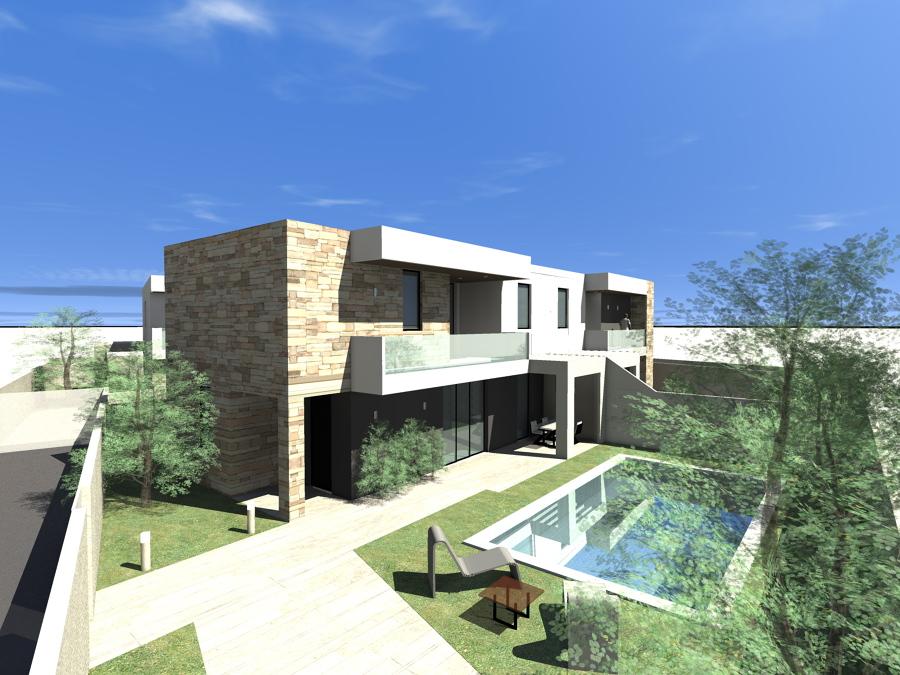 Foto render villa passiva trani de habitat system costruzioni s r l 300406 habitissimo - Casa passiva torino ...
