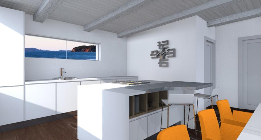 Progetto di arredo e interior design depandance idee interior designer - Progetto arredo cucina ...