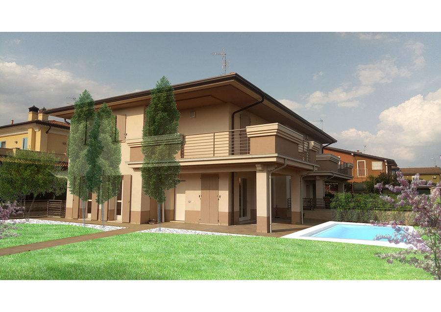 Progetto per una villa di nuova costruzione idee giardinieri for Progetto villa moderna nuova costruzione