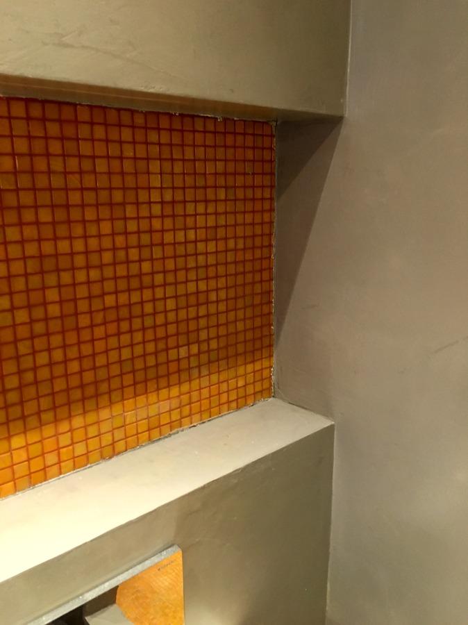 resina e mosaico