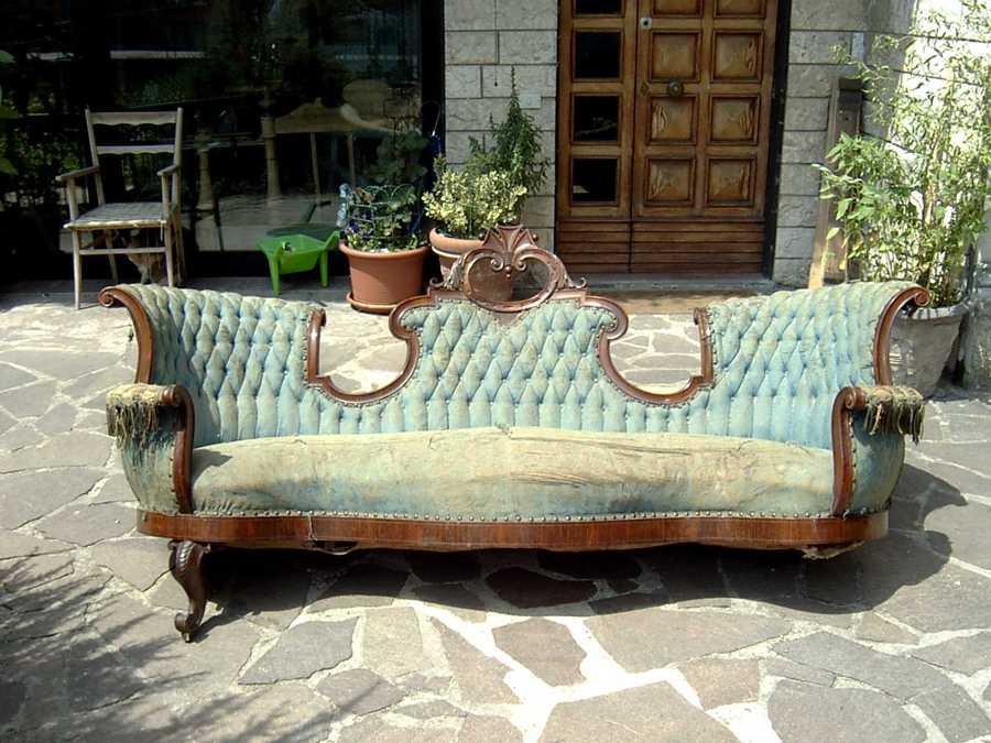 Divano Antico Legno : Progetto restauro divano antico idee tappezzieri