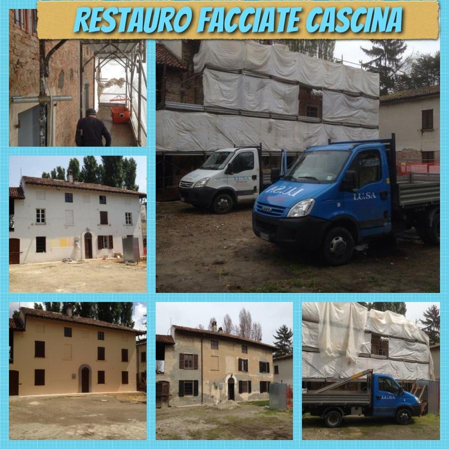 RESTAURO FACCIATE CASCINA