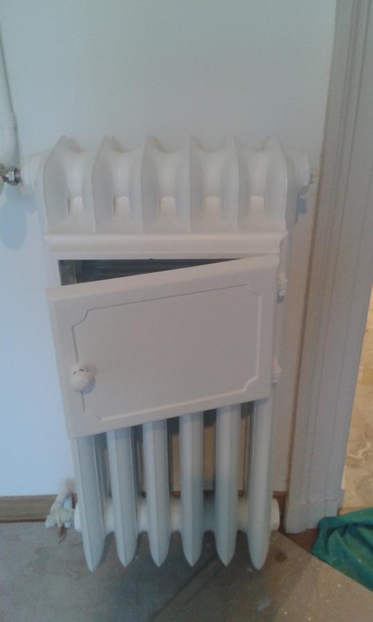 restauro smalto termosifone in ghisa