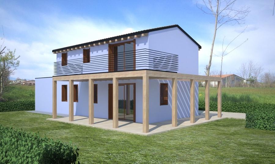 Casa in legno x lam idee costruzione case prefabbricate for Piani di casa in legno