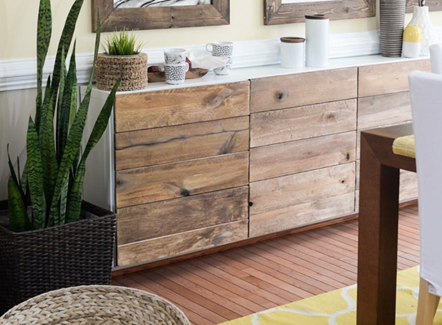 9 idee creative per trasformare i tuoi mobili di ikea idee interior designer - Idee con mobili ikea ...