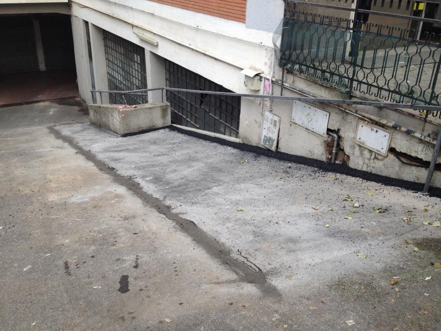 Rifacimento asfalto rampe
