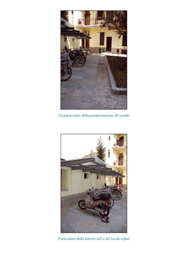 Rifacimento facciate, vano scale, Cortile interno
