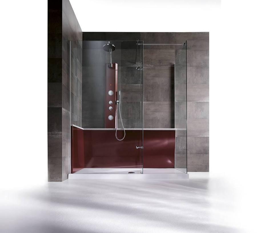 Rigenera modello 'Design' entrata a vetro dx 170x70