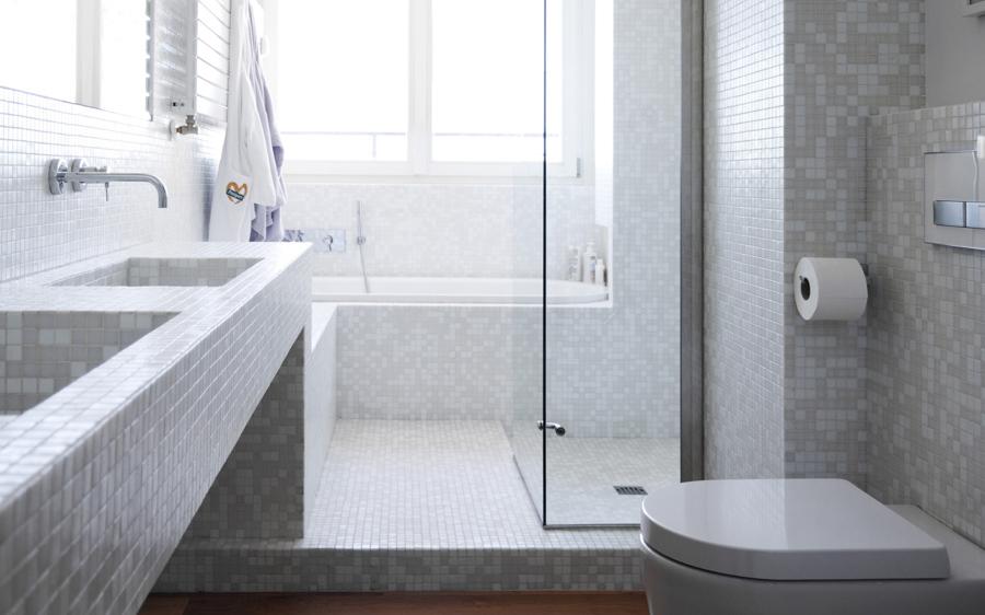 Ristrutturazione bagno express con lavori a secco idee ristrutturazione bagni - Rinnovare il bagno ...